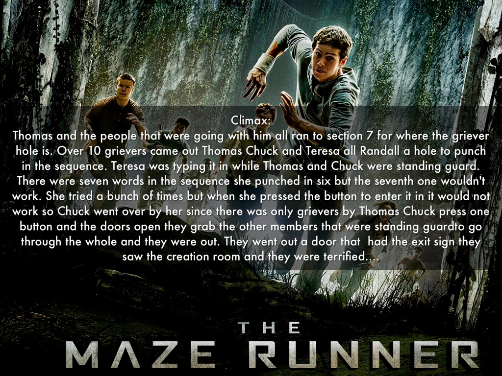 The Maze Runner by Carter M