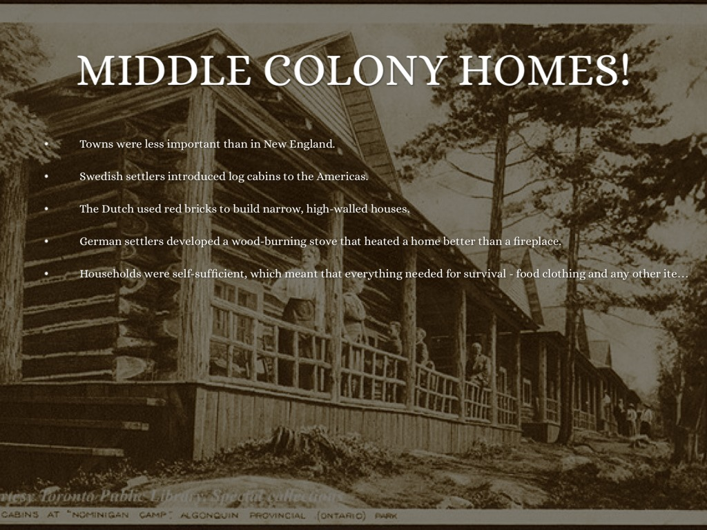 What Were The Homes Like In The New England Colonies