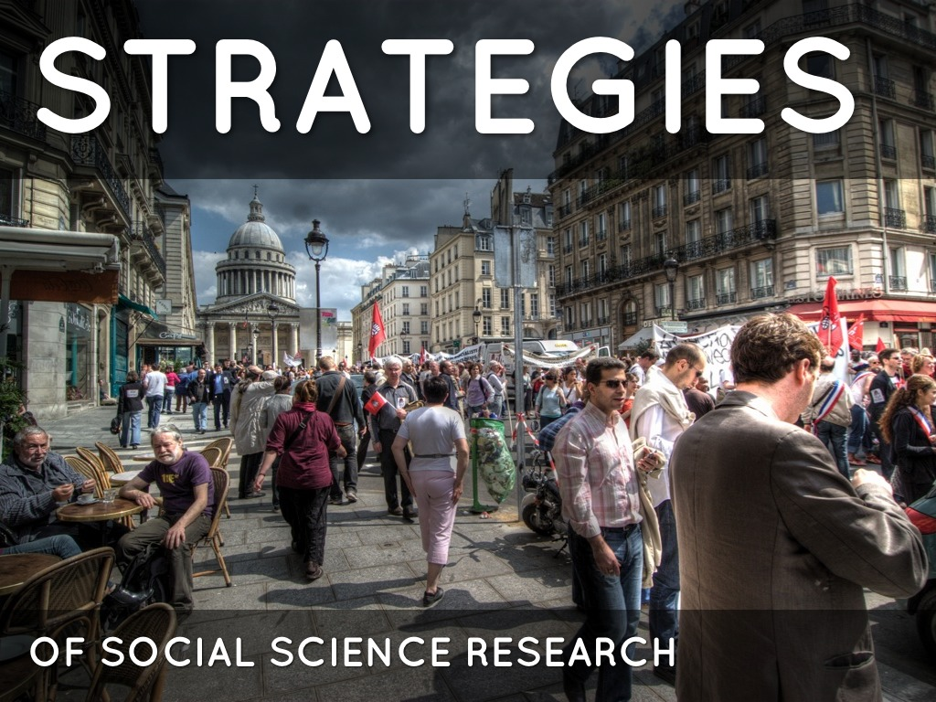 Strategies for Social Research