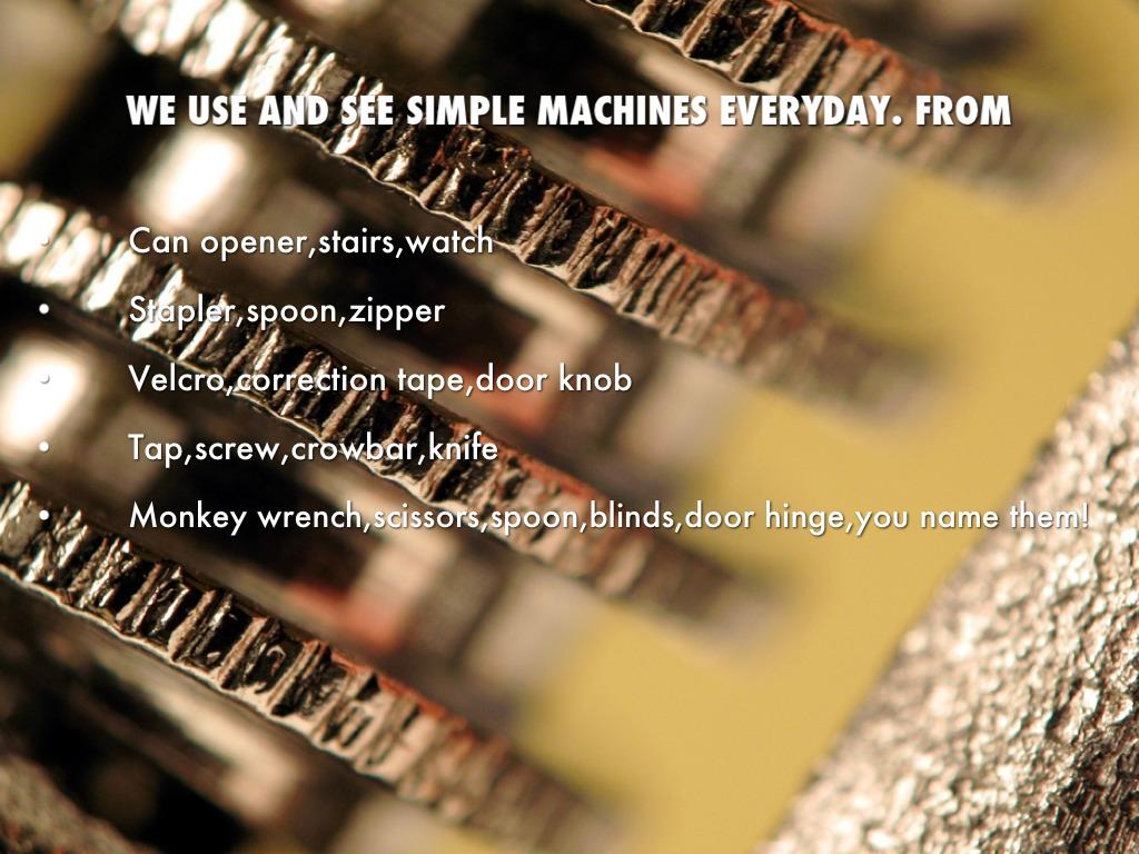 Simple Machines by Jianina Amaris Magao Munio