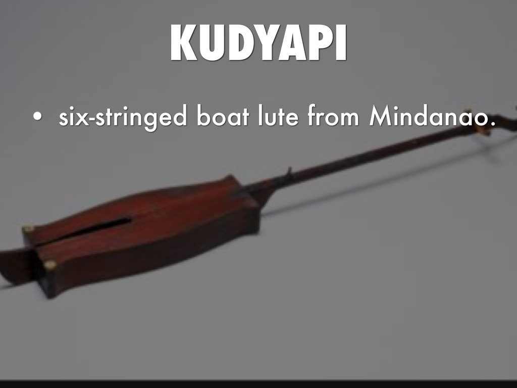 kudyapi musical instruments of mindanao Tagongko and  on these islands old malay music and a later form of india/ muslim music coexist  the kolintang is a counterpart of the malaysian or  indonesian gamelan, except that it is an ensemble strictly of percussion  instruments.