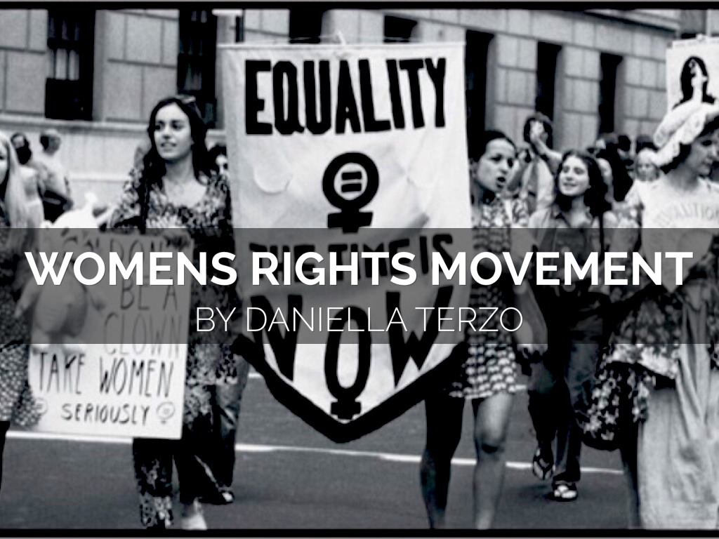 women's rights movement Since the beginning of the women's rights movement, women who devoted their  lives to reform often were middle and upper class women women who worked.