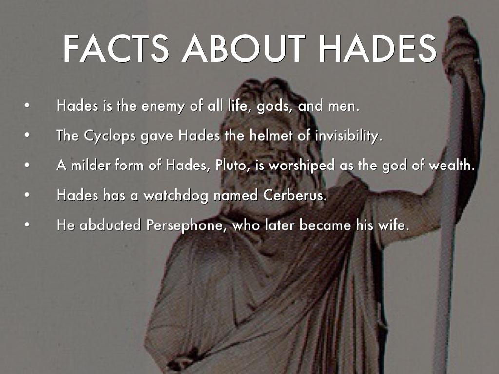 Hades Greek God Information