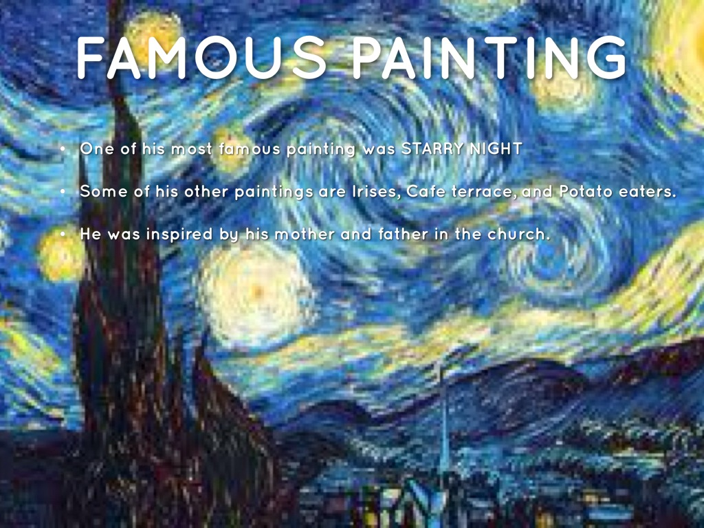 Famous cafe painting - Facts