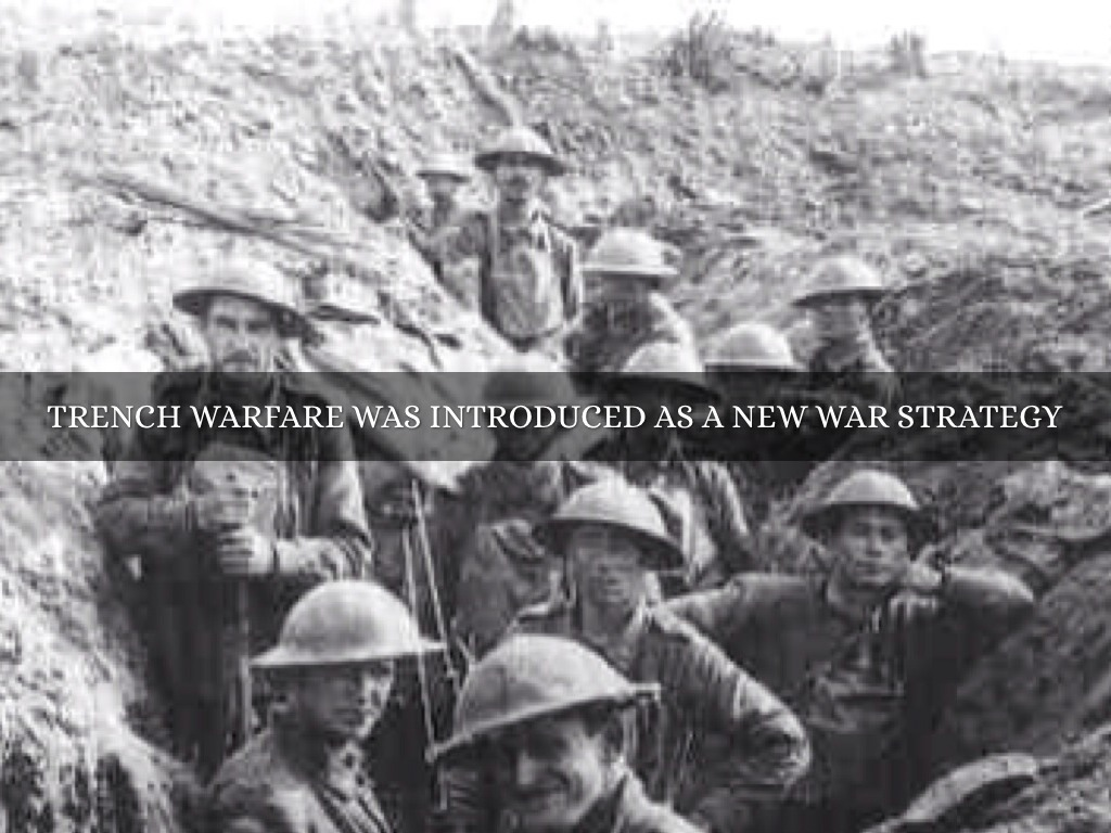 trench warfare was a very important