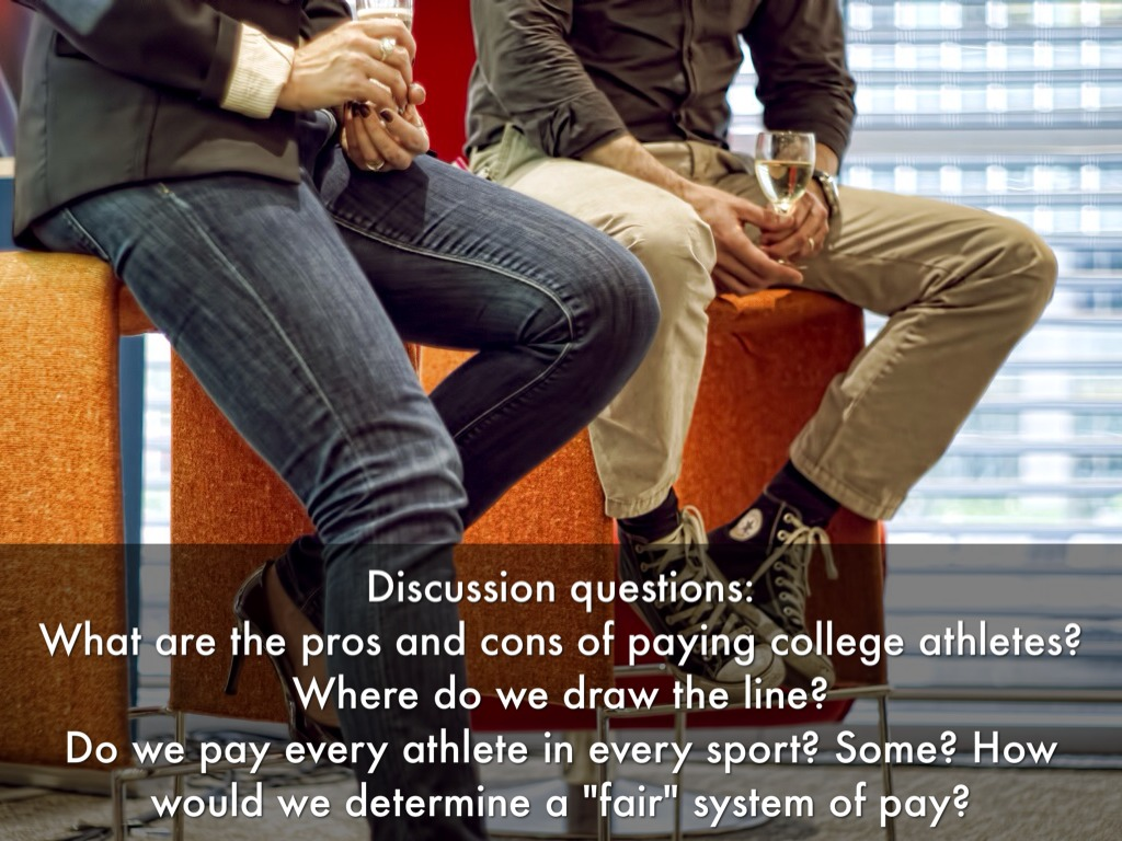 paying college athletes pros and cons