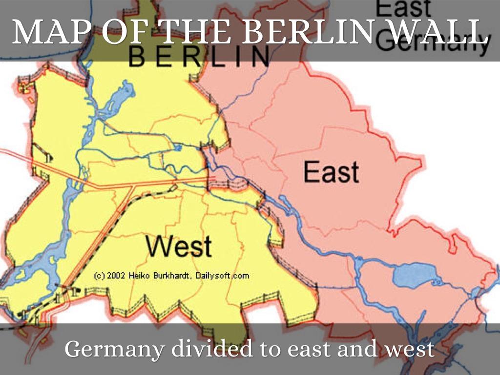 Title By Matt Larson - Berlin map east west