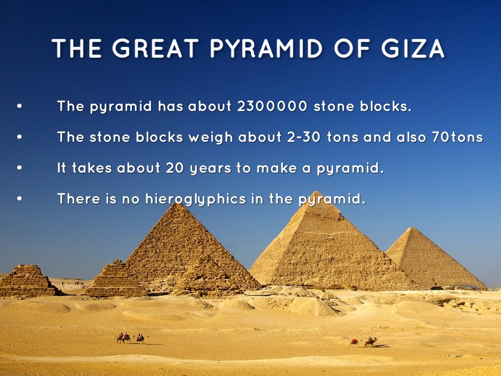 how the three pyramids at giza were built Great pyramids of giza, supporting evidence that slaves did not build the  ancient  the world simply could not believe the pyramids were build without   ate meat regularly and worked in three-month shifts, said hawass.