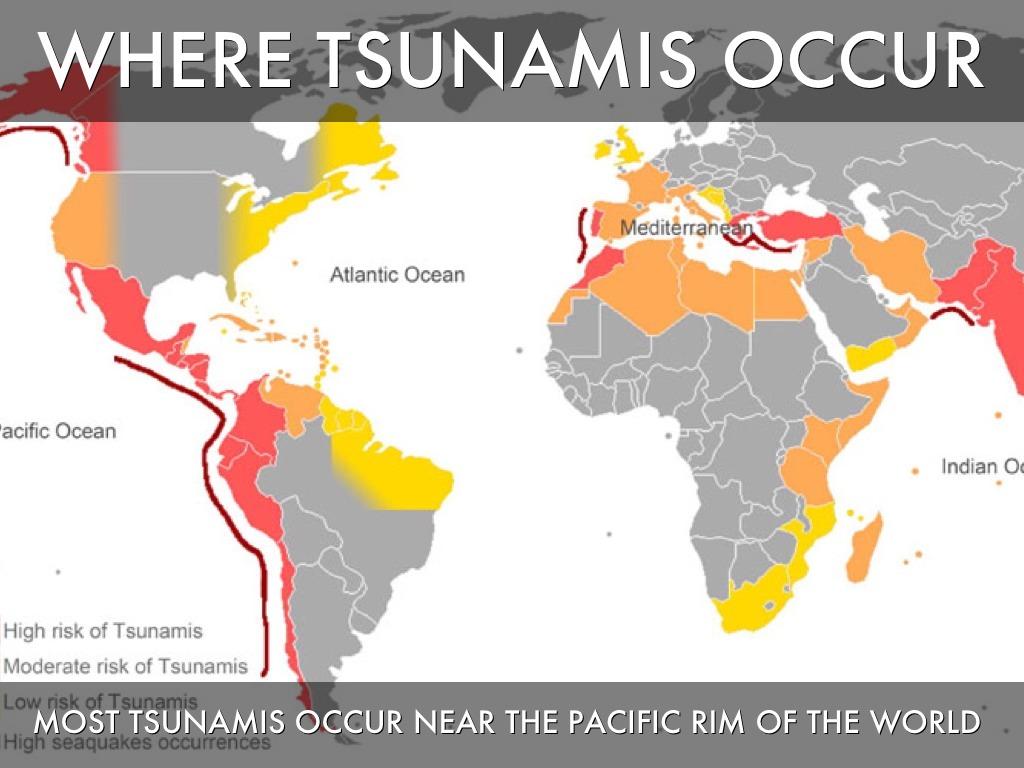 Tsunami By Joshua & Stephen by Joshua Dantzler Pacific Ocean Underwater Map