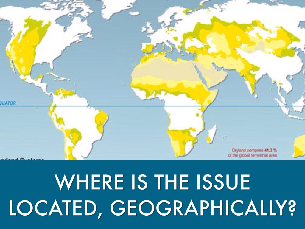 Where Is The Issue Located Geographically