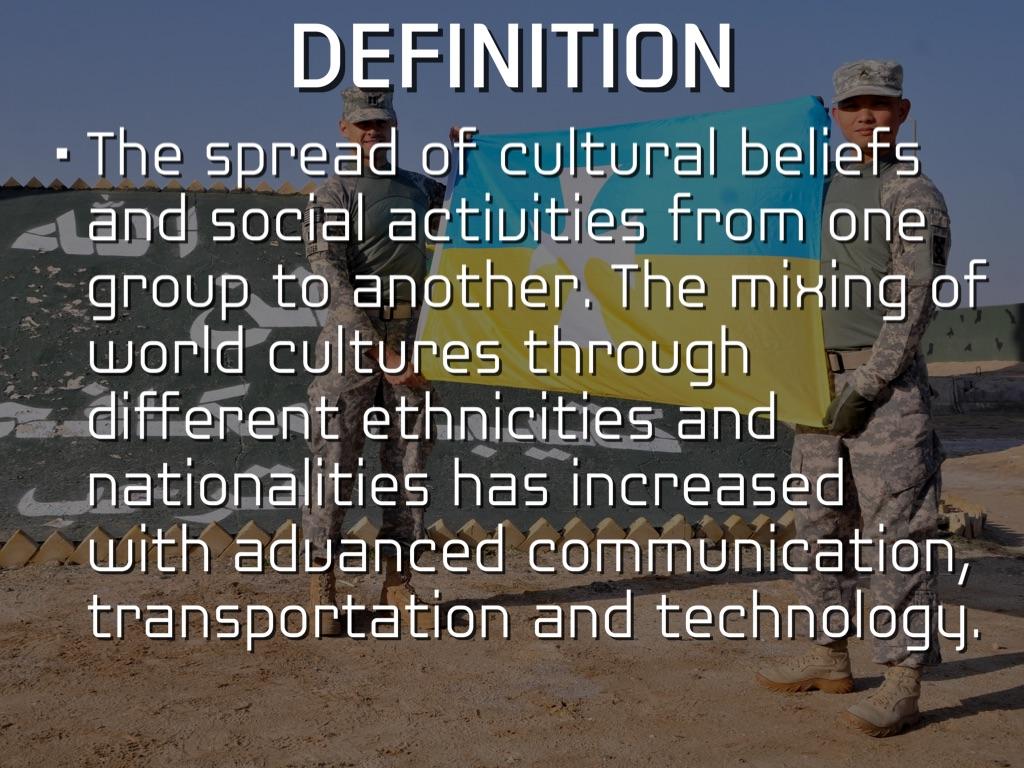 cultural diffusion by joshua newton