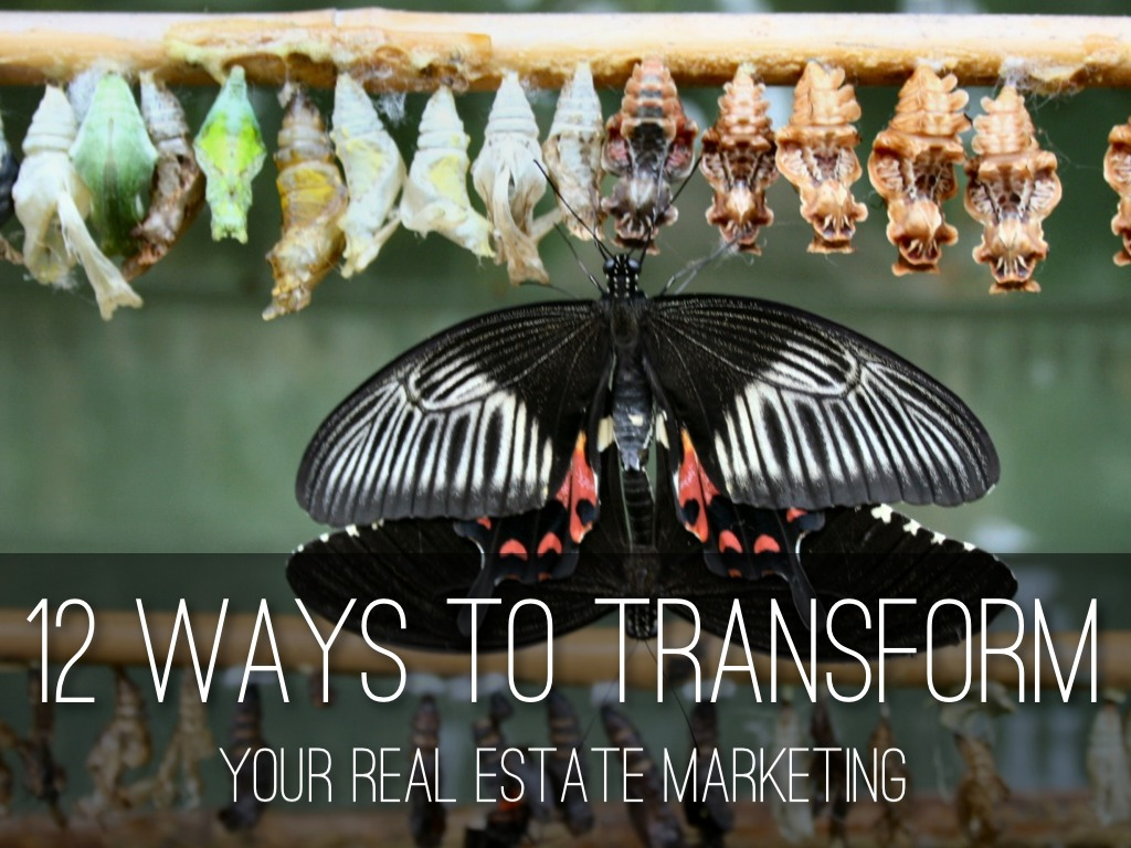 12 ways to transform your real estate marketing by, Powerpoint templates