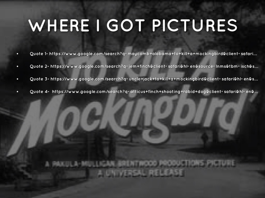 to kill a mockingbird walking in Get free homework help on harper lee's to kill a mockingbird: book summary, chapter summary and analysis, quotes the other lesson that scout is truly able to incorporate into her worldview is the necessity of walking in someone else's shoes.