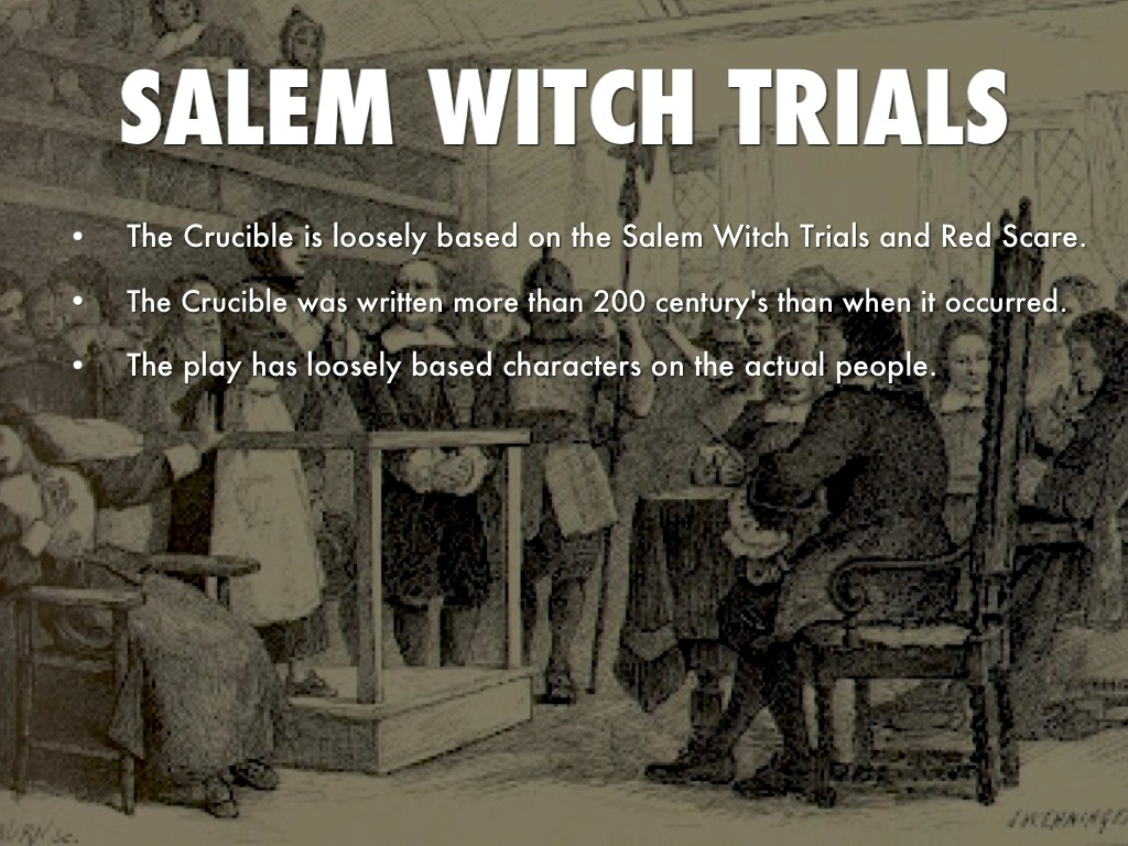 witch trials crucible