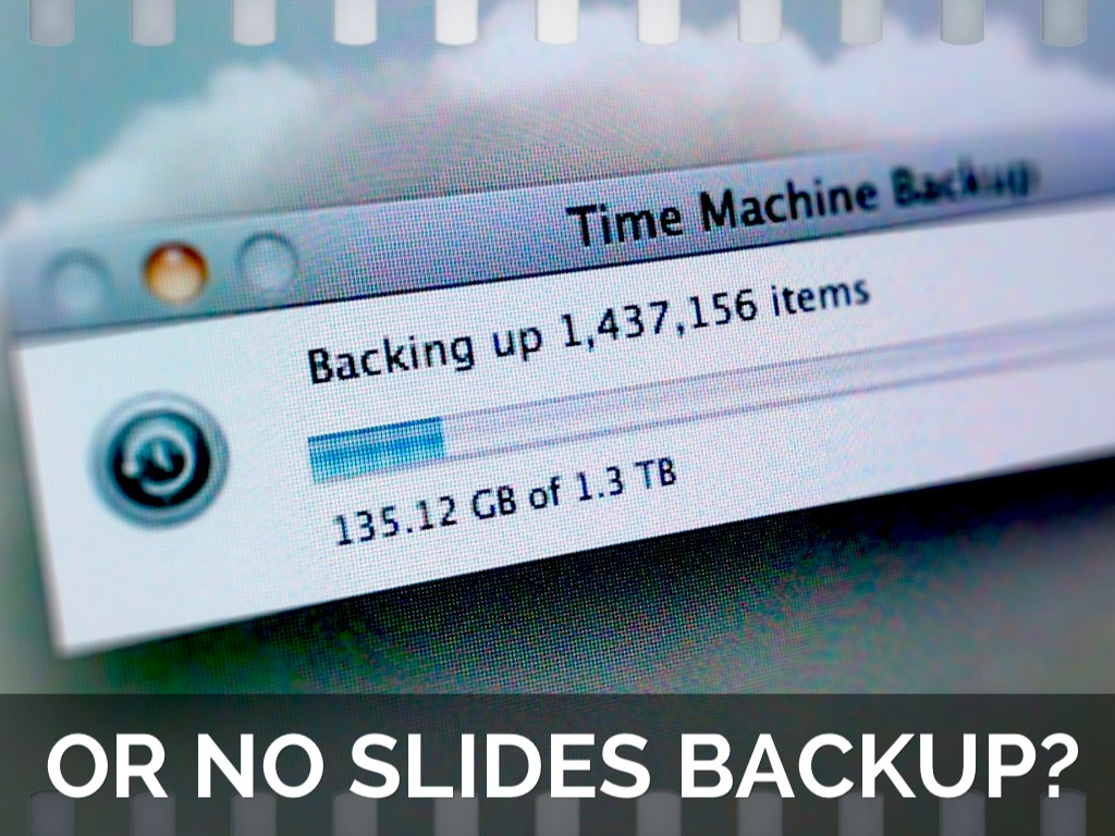 How to use Time Machine to back up or restore your