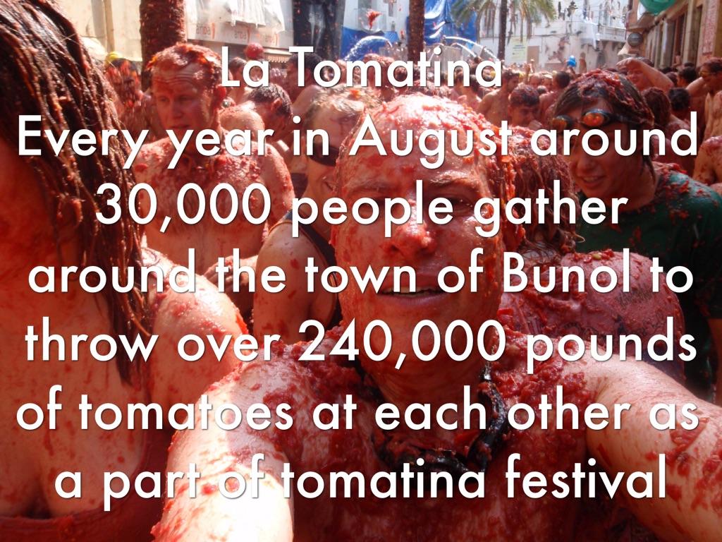 La Tomatina Festival Facts