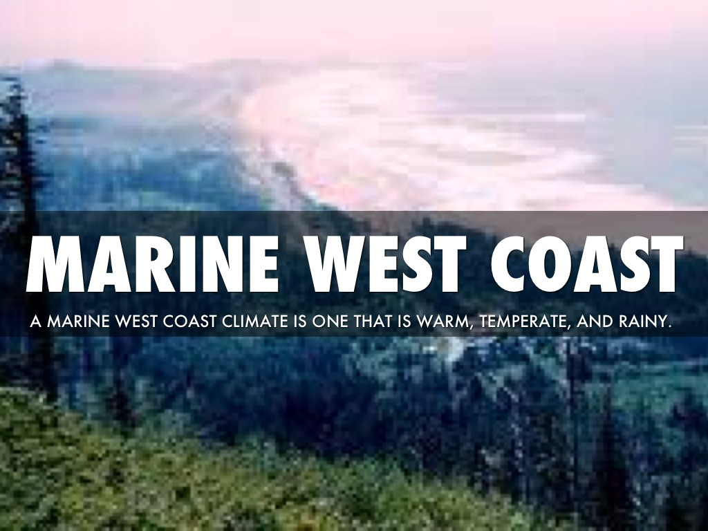 Marine West Coast Climate In Africa