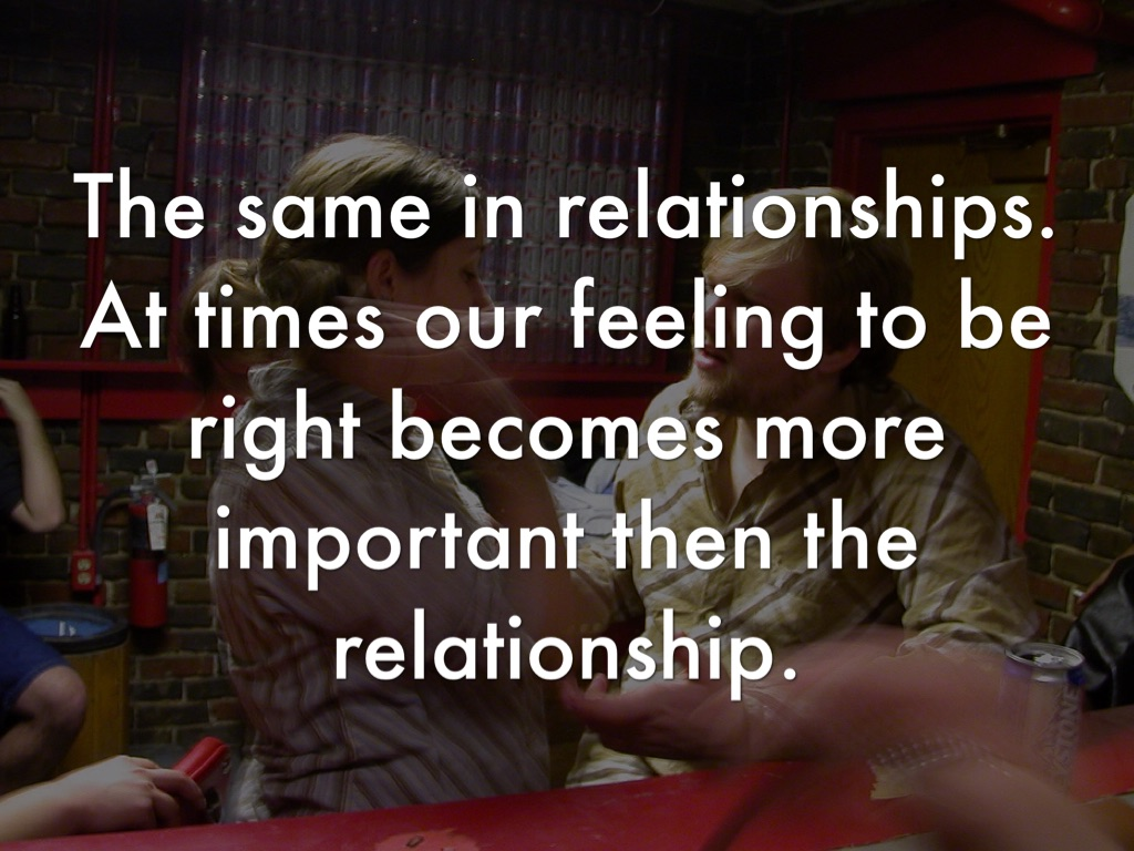 what is more important in a relationship