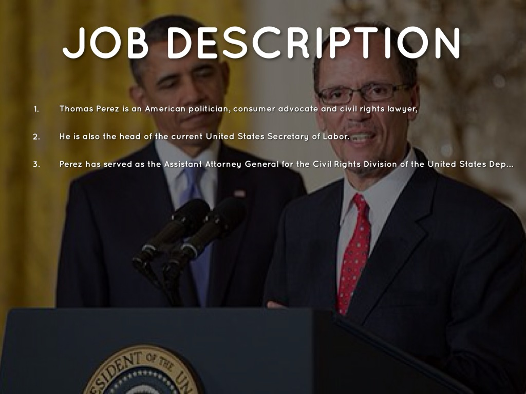 3 - Attorney General Job Description