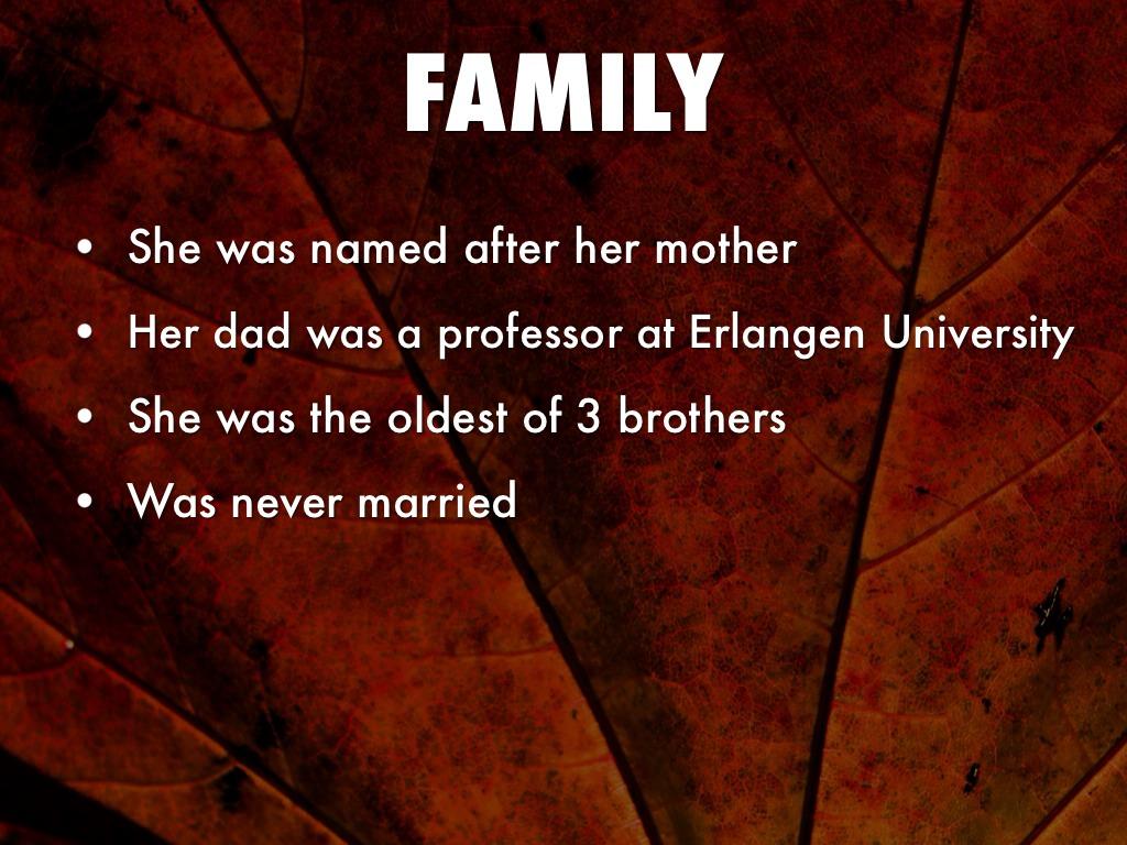 Amalie Emmy Noether by Makayla Williams Emmy Noether