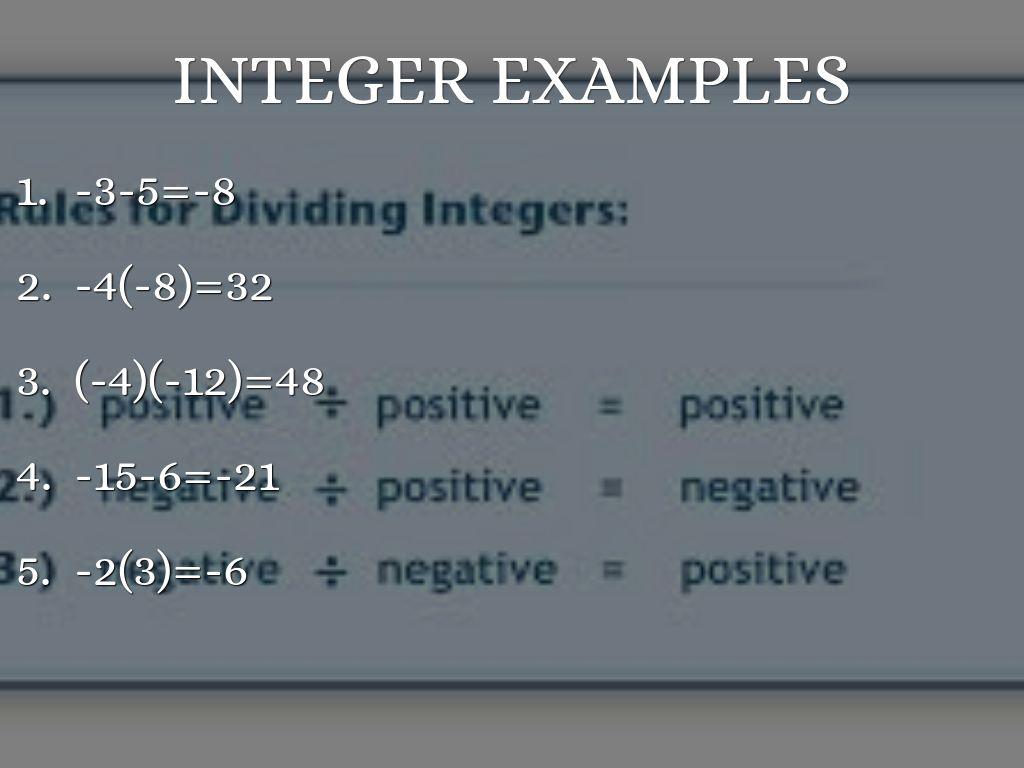 Integers By Hernandez6432
