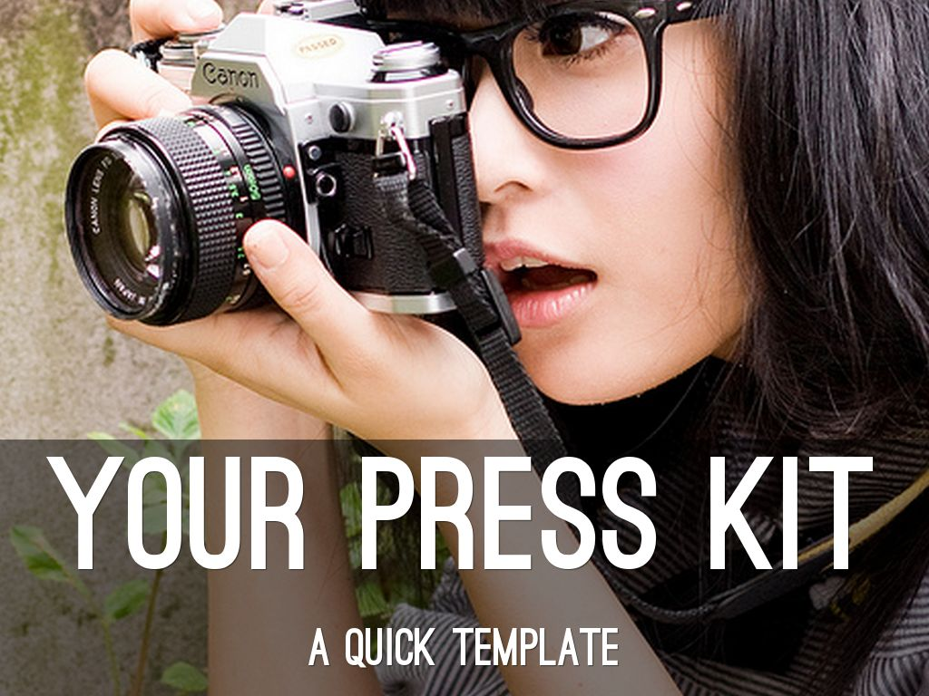 your press kit a quick template by angela booth