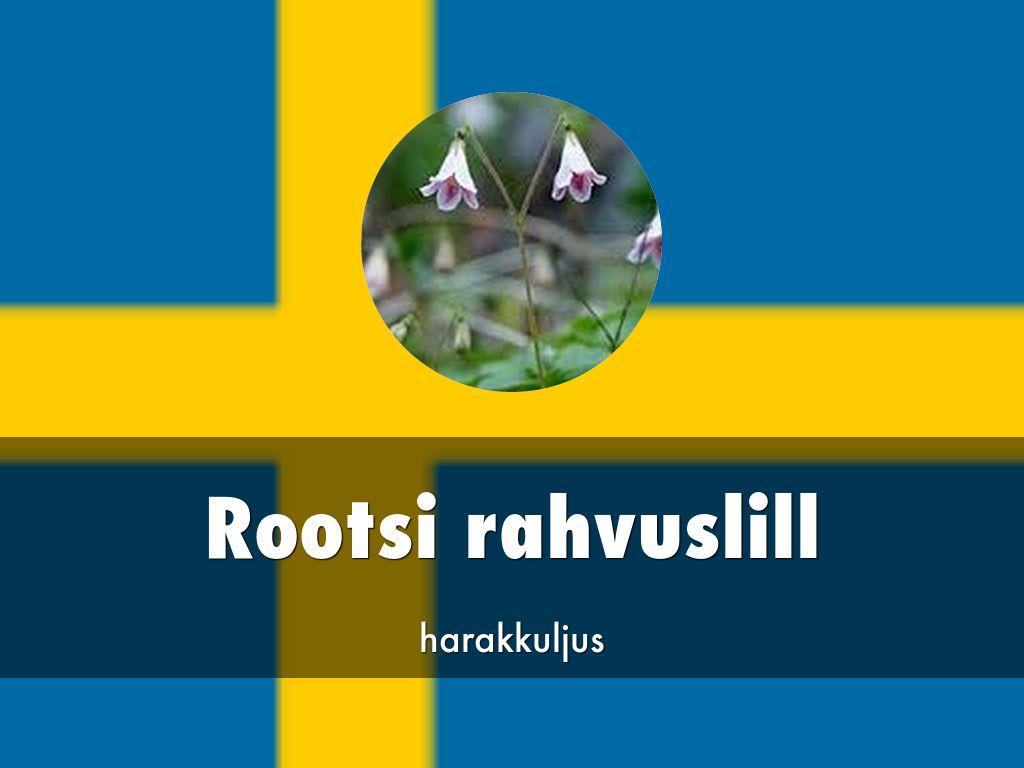rootsi rahvuslill