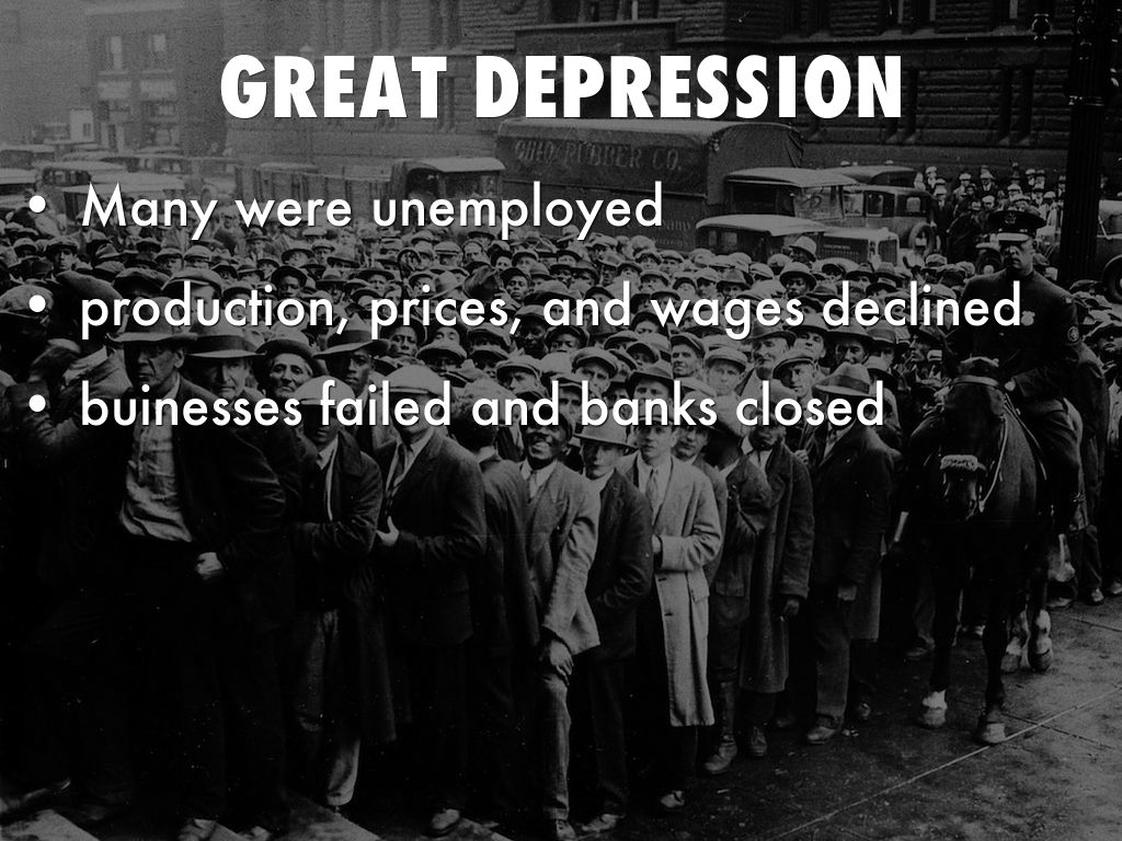 great depression dbq A response to the great depression the great depression of the 1930s was the economic event of the 20th century the great depression began in 1929 when the entire world suffered an enormous drop in output and an unprecedented rise in unemployment.