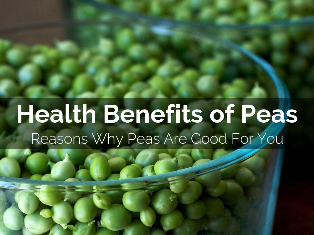 Useful properties of peas