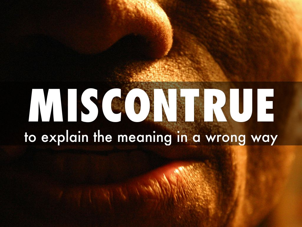 miscontrued truths Misconstrued the anti-political critique of ideology moves comfortably across the political spectrum, and today's anti-politician can become.