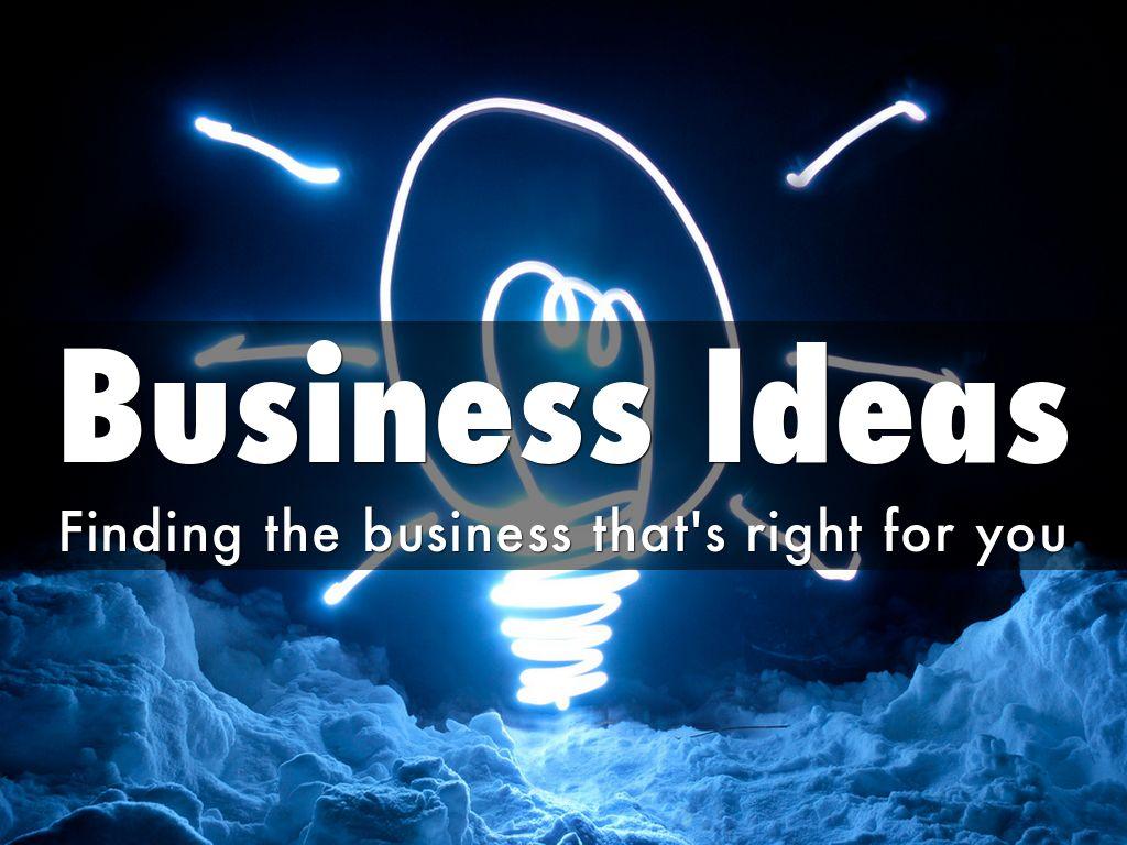 Business Ideas Part 2