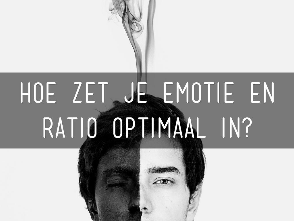 Hoe zet je emotionele en rationele argumenten in