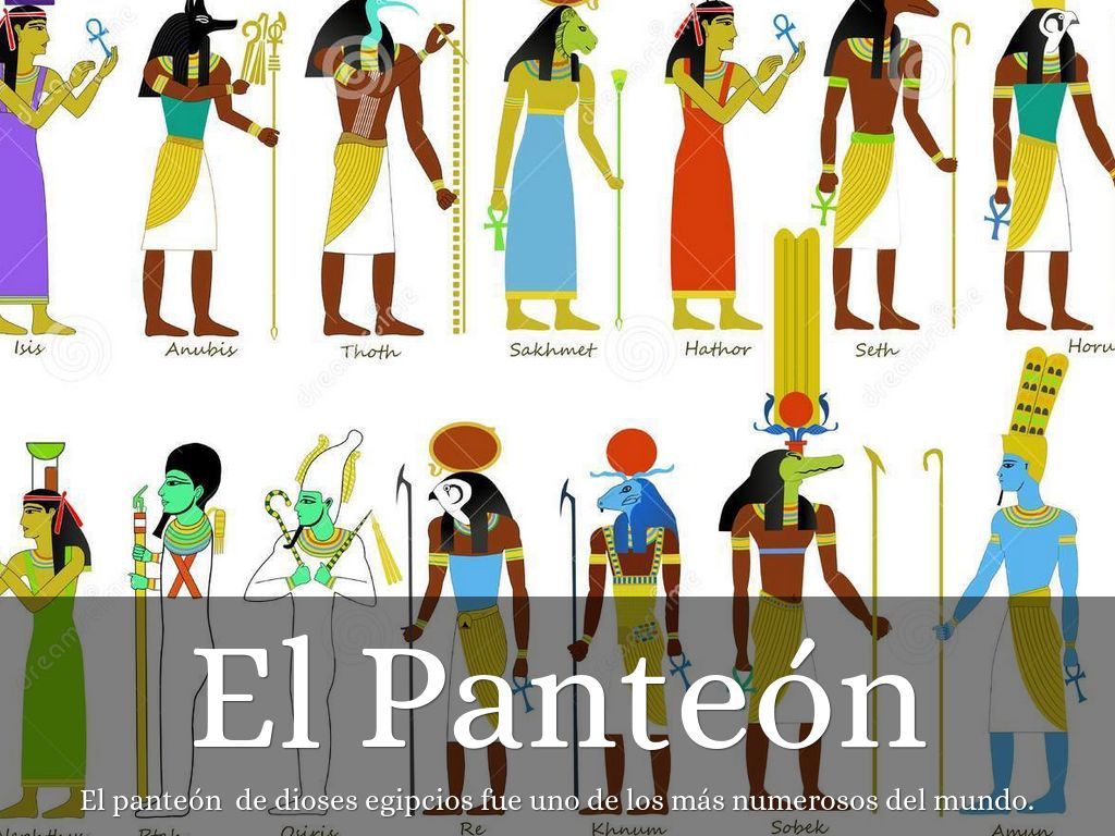 Dioses Egipcios By Dipinkcatt