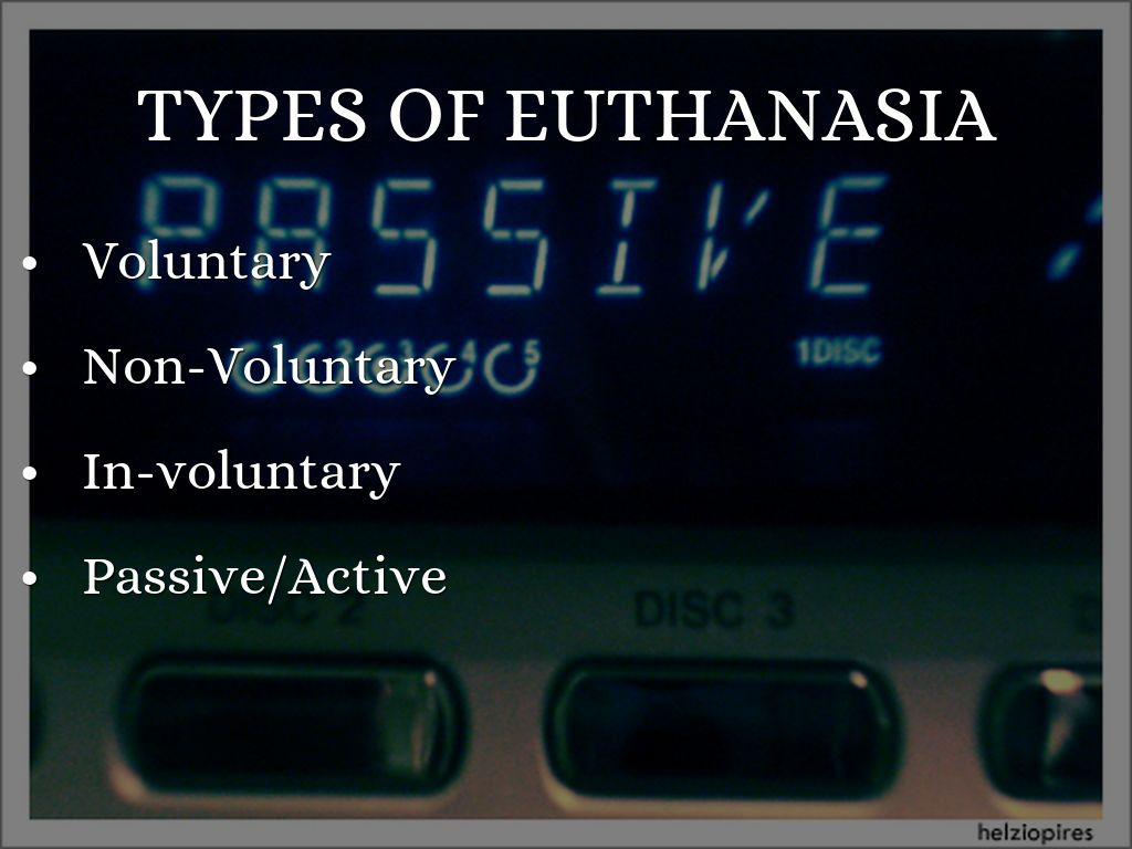 the question of whether euthanasia is an artificial life or death Euthanasia: a question of ethics euthanasia is one of the most  ones who have no quality of life euthanasia fascinates me because  euthanasia is artificial in.