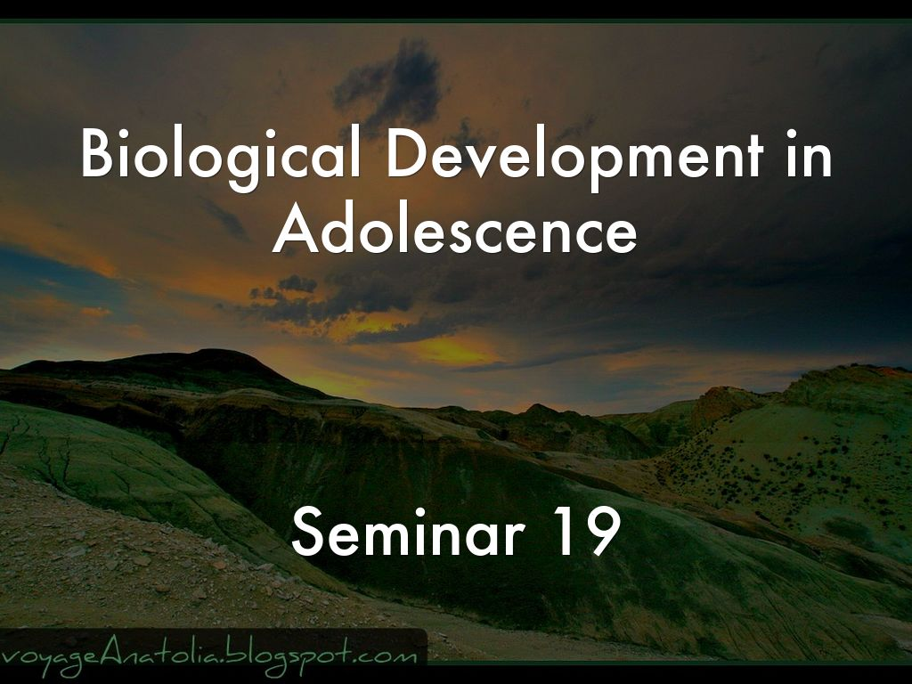 biological changes in adolescence Chapter 1 who are adolescents defining adolescence: to be complete, a definition of adolescence must consider biological, psychological and sociological changes.