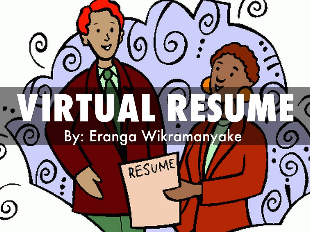 virtual resume by eranga vik