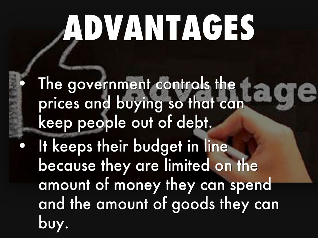advantages of planned economy Until an economic crisis occurs, it is possible to take the position that the advantages of a market economy outweigh its disadvantages, or the opposite position, and to develop a political strategy that accords with one's view, whatever it is.