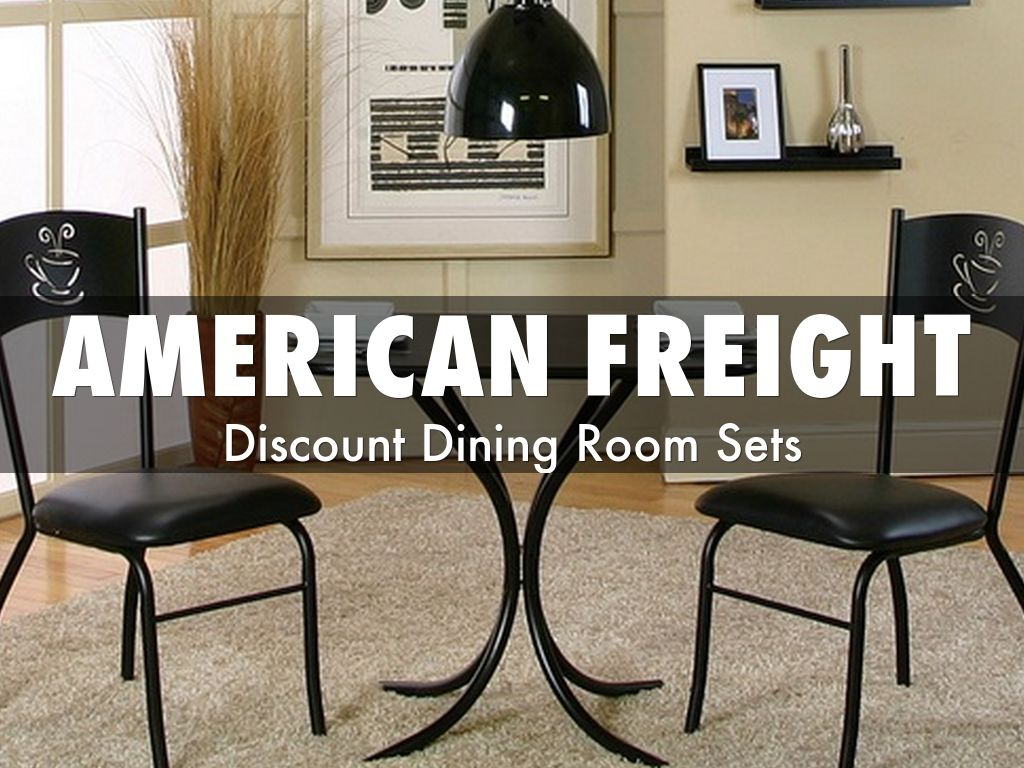 american freight discount dining room sets