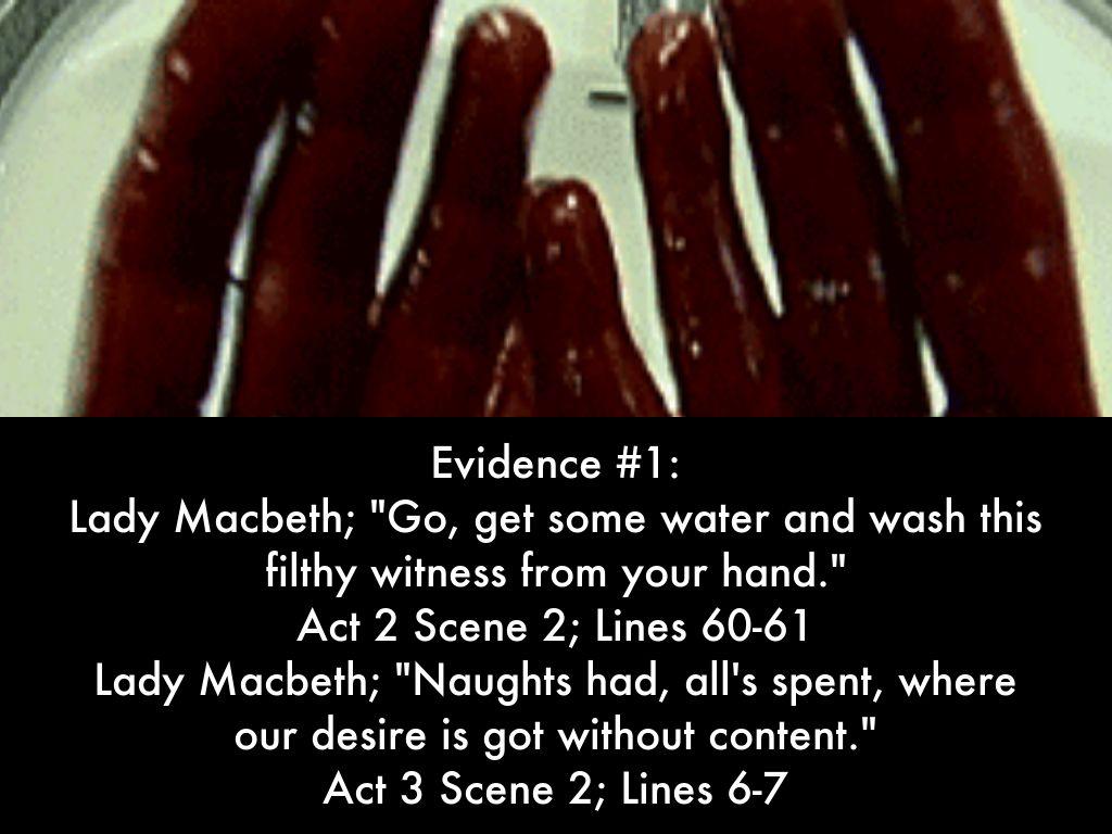 lady macbeth is responsiblie for macbeths