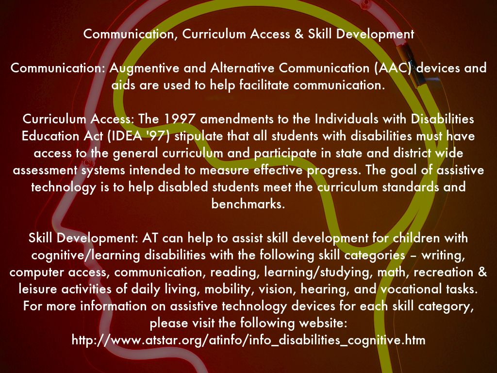 copy of cognitive and learning disabilities by shana.