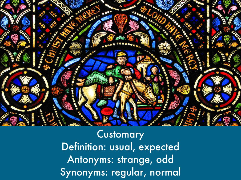 Accustomed synonym and antonyms