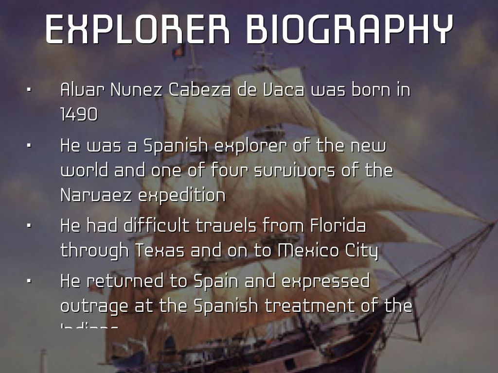 biography of cabeza de vaca