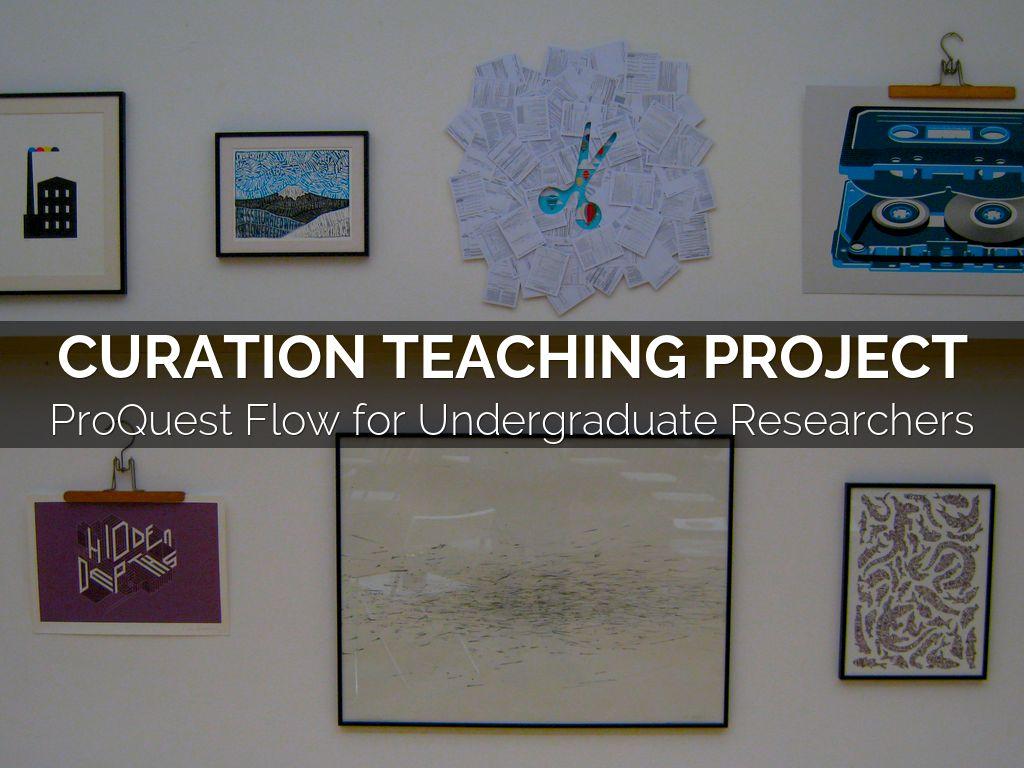 LIS 635 Curation Teaching