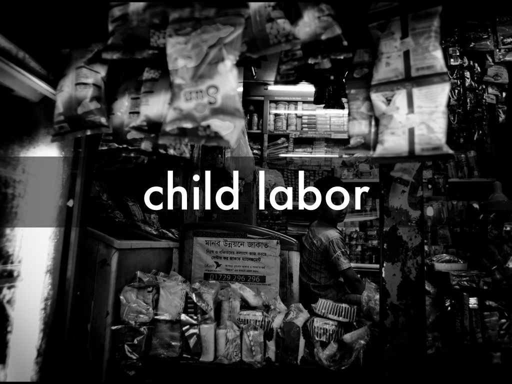 outline for child labor Child labor essay examples child labor 2008 outline: thesis statement: child labor nowadays is considered to be a social injustice due to its harmful effects on.