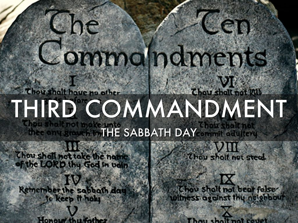 The 2nd & 3rd Commandments by Marc Cardaronella
