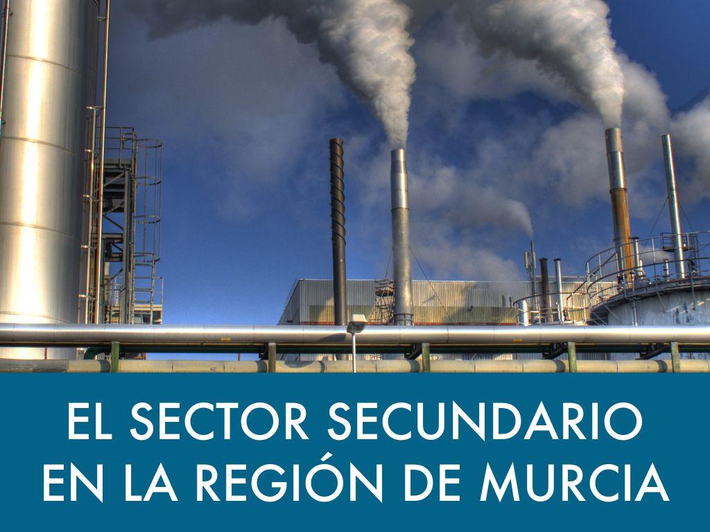 el sector secundario en la regi u00d3n de murcia by