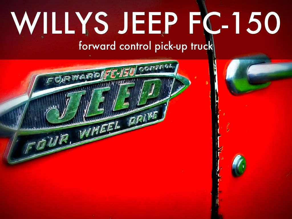 Willys Jeep Fc 150 170 Truck Beds