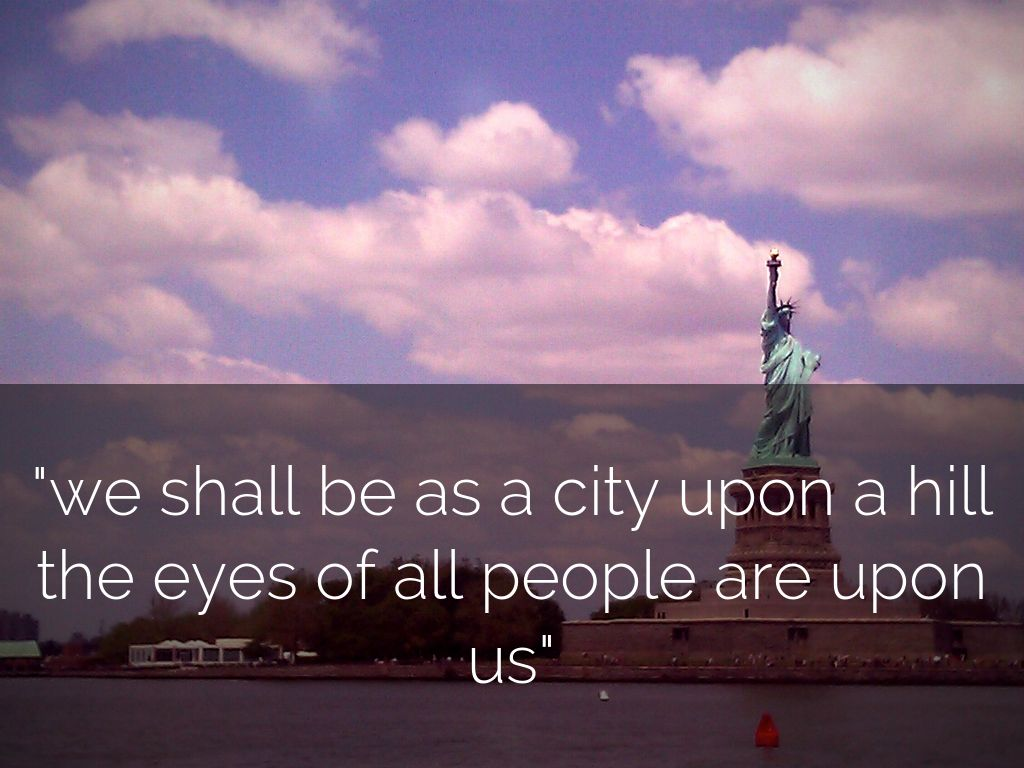 city upon a hill analysis John f kennedy's 'city upon a hill 'we must always consider,' he said 'that we shall be as a city upon a hill — the eyes of all people.