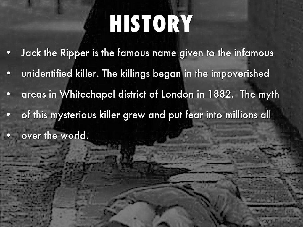 Jack the ripper by denise rogers.