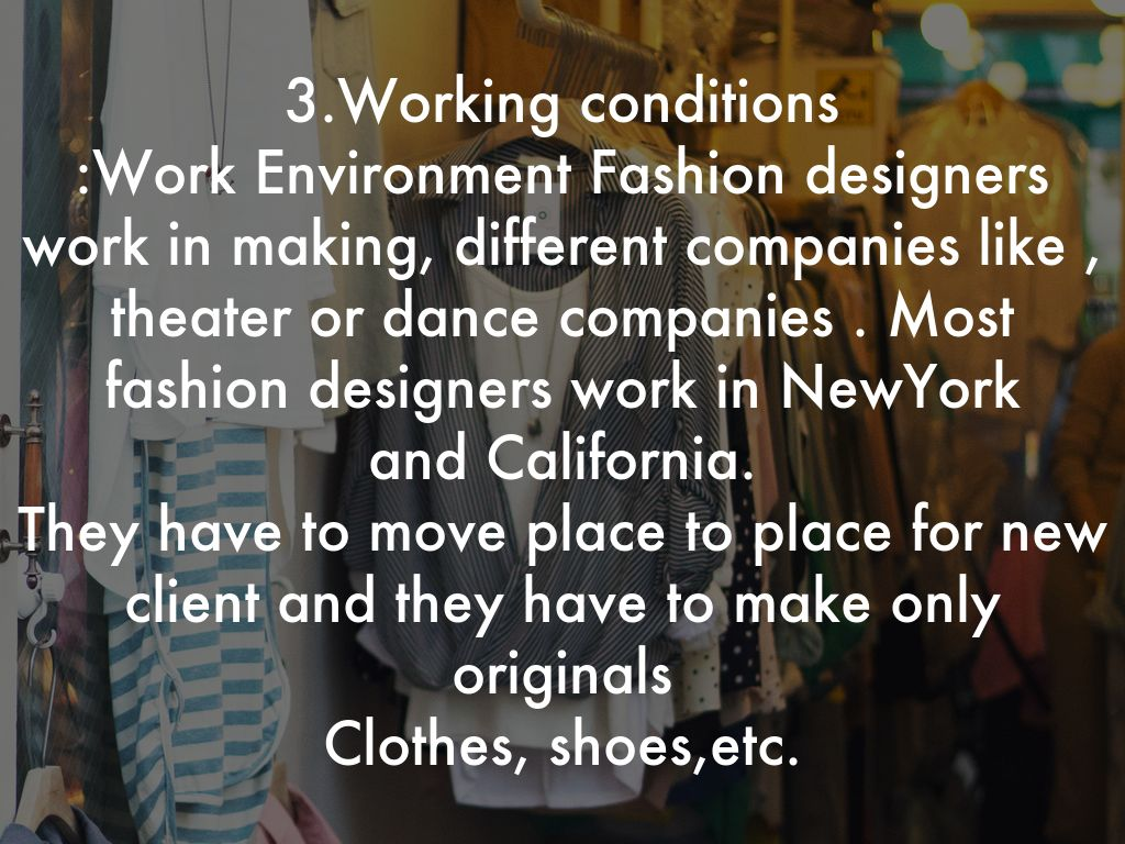 Fashion Designers By Kelly Juan